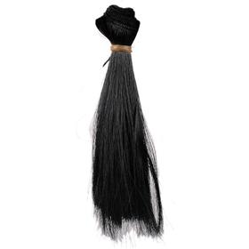 Волосы для кукол черные, 15*100см