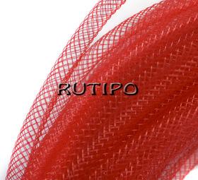 Регилин трубчатый красный, 4мм*1м