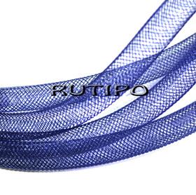 Регилин трубочатый темно-синий, 8мм*1м