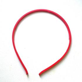 Обруч акриловый красный, 4мм,шт