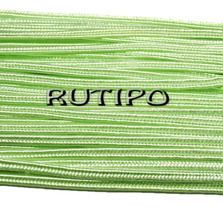 Сутажный шнур салатовый светлый, 3мм*1м