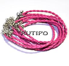 Base for bracelet DeepPink 200*3mm, pcs