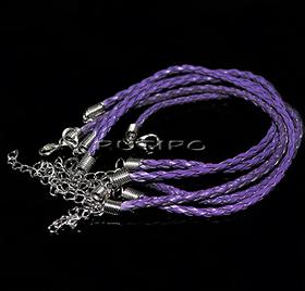 Основа для браслета фіолетова 200*3мм, шт