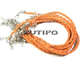 Основа для браслета оранжевая 200*3мм, шт