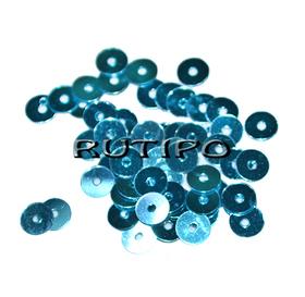 Пайетки DeepSkyBlue 5мм, 1г (ок.150шт)