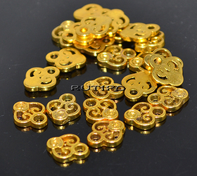 Підвіски під золото 10*8мм, 20шт