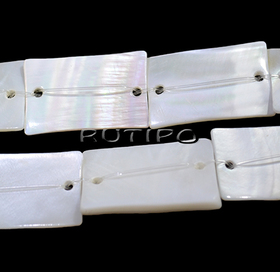 Mother-of-pearl connector 28 * 18mm, low 15pcs