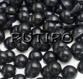 Полубусины Black 4мм, 1гр (55-60шт)