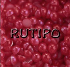 13 Полубусина Crimson 5мм, 1гр (27-32шт)