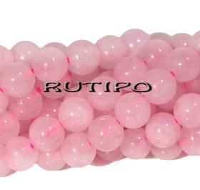 Бусина Розовый Кварц, 6мм, шт