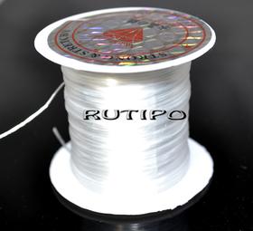 Силиконовая нитка-резинка, катушка - 0,8мм*10м