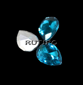 Кристал крапля Aquamarine 10 * 7мм, шт