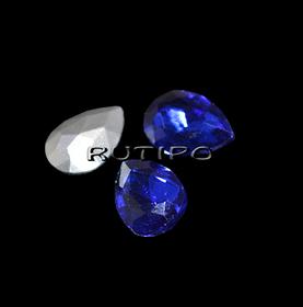 Кристал крапля Sapphire 10 * 7мм, шт
