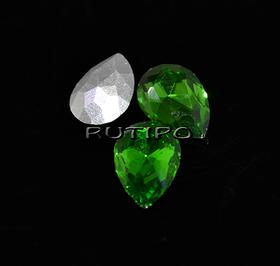 Кристал крапля Emerald 10 * 7мм, шт