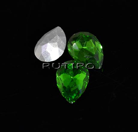 Кристалл капля Emerald 10*7мм, шт