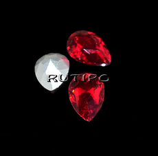 Crystal drop LightSiam 10 * 7mm, pcs