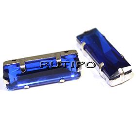 Шатон прямоугольный, Blue, 24*8мм, шт