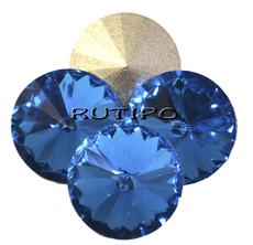 Риволи Aquamarine 18*10мм, шт