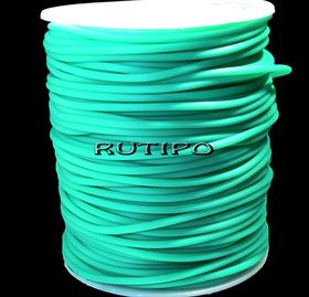 Tube cord PVH MediumTurquoise, 2mm, 1m