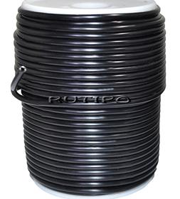 Tube cord PVH Black, 3mm, m