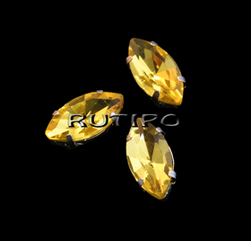 Шатон маркиз, Gold, 10*5*4мм, шт