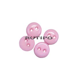 Пуговка-мини розовая, 6мм, шт