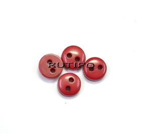 Пуговка-міні червона, 6мм, шт