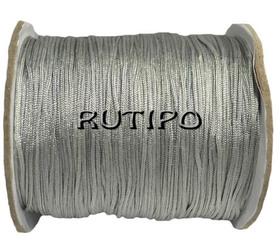 Нейлоновый шнур серый, 1.2мм*1м