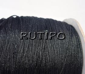Нейлоновый шнур черный, 1.2мм*1м