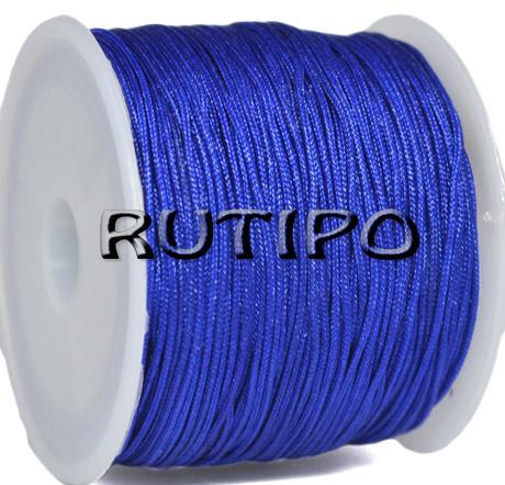 Шнур нейлоновий синій 0.8мм, м