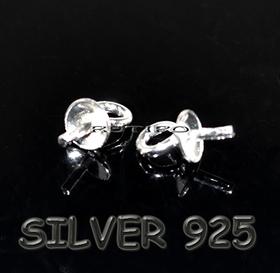 Штифт серебро 925 6,5*3мм, шт