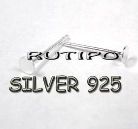 Гвоздики - пусеты, серебро 925пр, пара
