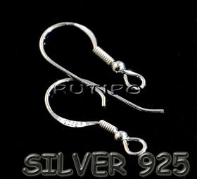 Швензы, серебро 925 проба, 18мм, пара
