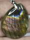 Кулон Лабрадорит (Спектроліт) 40*30*6мм, шт