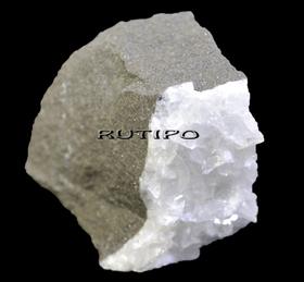 Выколка Кальцит на Песчаннике 55*50*50мм , шт