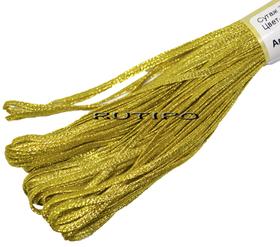 Сутажной шнур під золото, 2.5мм * 1м