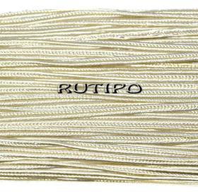Сутажный шнур кремовый, 3мм*1м