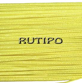 Сутажный шнур желтый, 3мм*1м