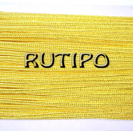 Сутажной шнур жовтий, 3мм * 1м