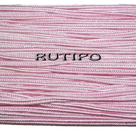 Сутажный шнур светло-розовый, 3мм*1м