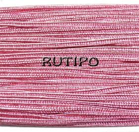 Сутажный шнур розовый, 3мм*1м