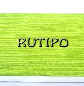Сутажный шнур салатовый неоновый, 3мм*1м