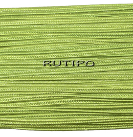 Сутажный шнур светло-оливковый, 3мм*1м
