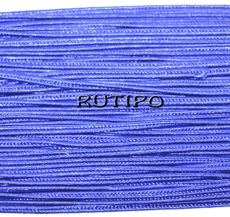 Сутажной шнур синій, 3мм * 1м