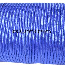 Сутажный шнур синий, 4мм*1м