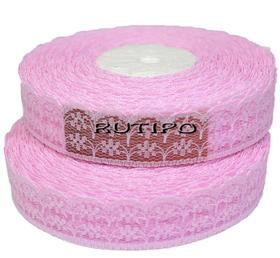 Мереживо рожеве, 22мм * 10м