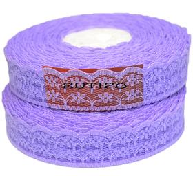 Кружево фиолетовое, 22мм*1м