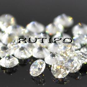 Кубический Цирконий А, Diamond, Clear 1мм, шт