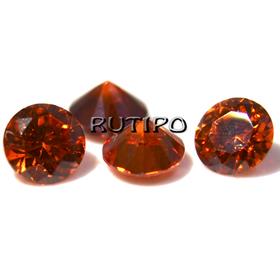 Кубический Цирконий А, Diamond, Red 1мм, шт