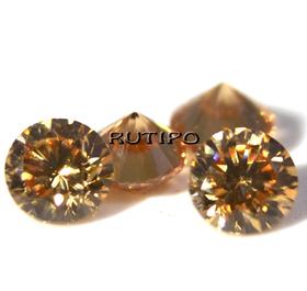 Кубический Цирконий А, Diamond, PeachPuff 1мм, шт